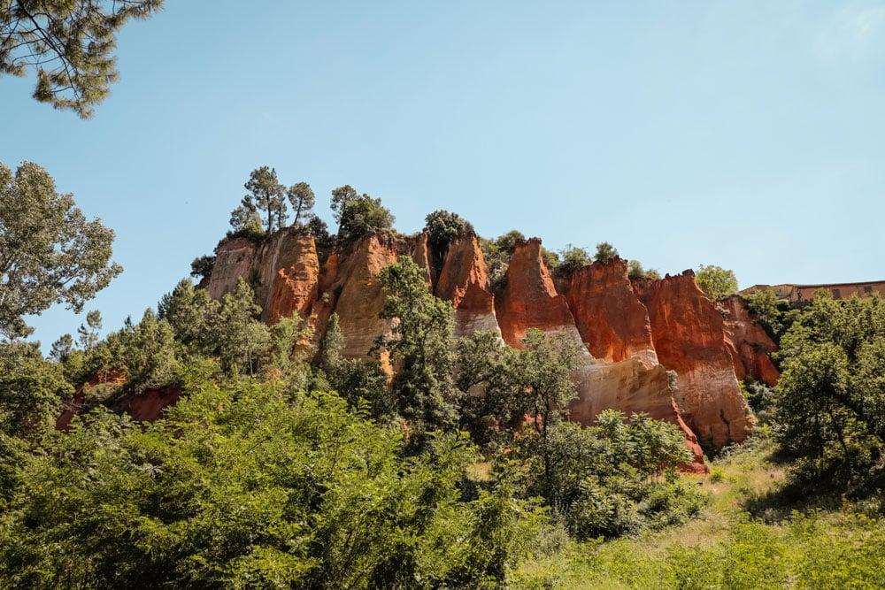 que faire dans le Luberon voir Roussillon