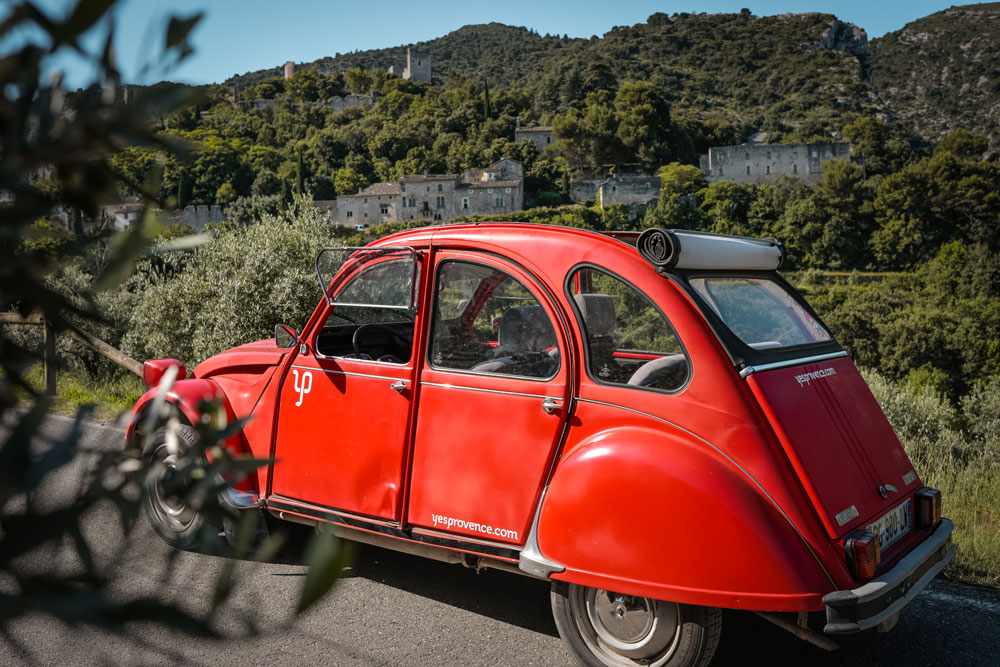 quel itinéraire vacances Vaucluse Provence ?