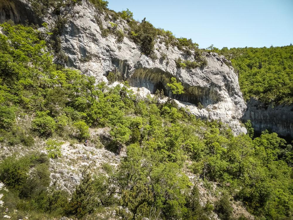 randonnée gorges de la Nesque Vaucluse
