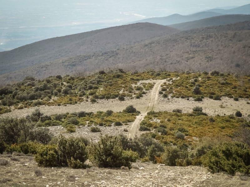 randonnée plus haut sommet Luberon Mourre Nègre