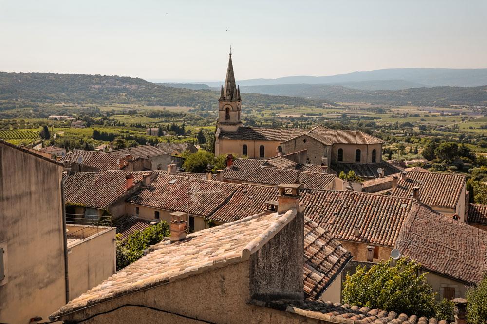 visiter Bonnieux et les alentours Vaucluse