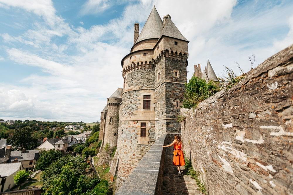 châteaux à faire en Haute-Bretagne
