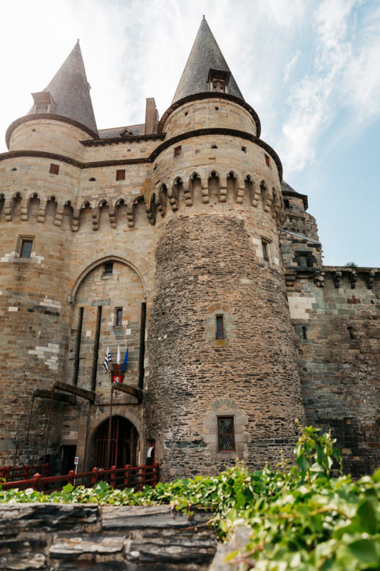 plus beaux châteaux Haute-Bretagne