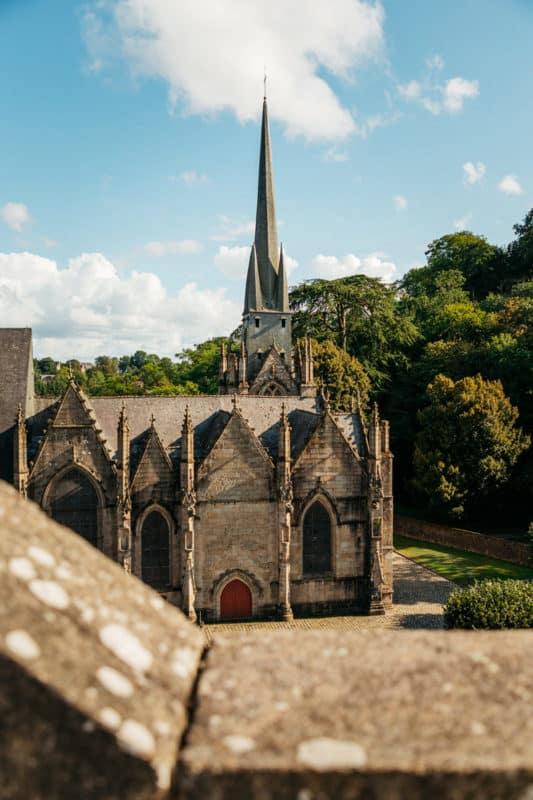 visiter les cites médiévales Haute Bretagne