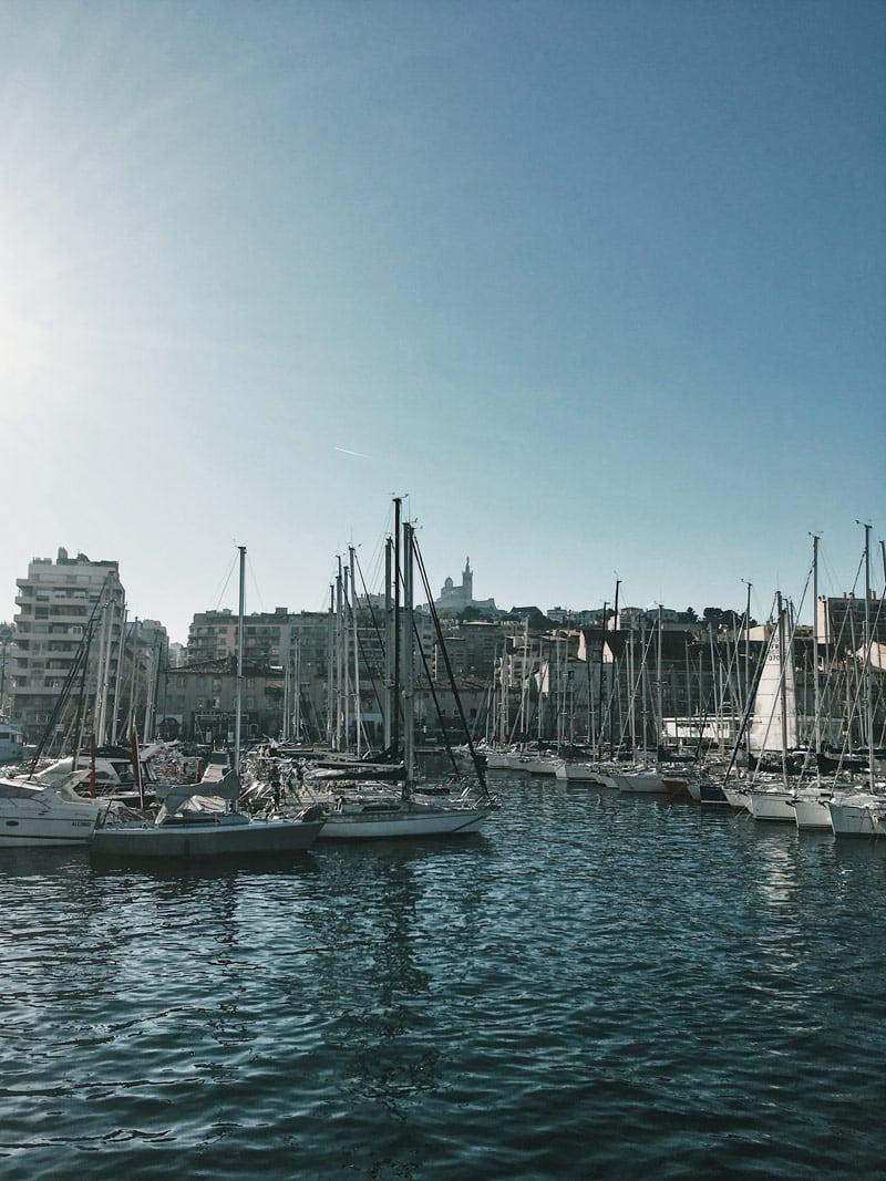 excursion en mer Vieux Port de Marseille