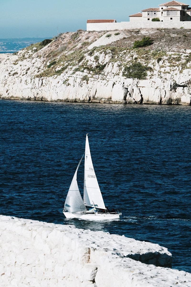 navettes quatre îles face à Marseille Frioul île d'If
