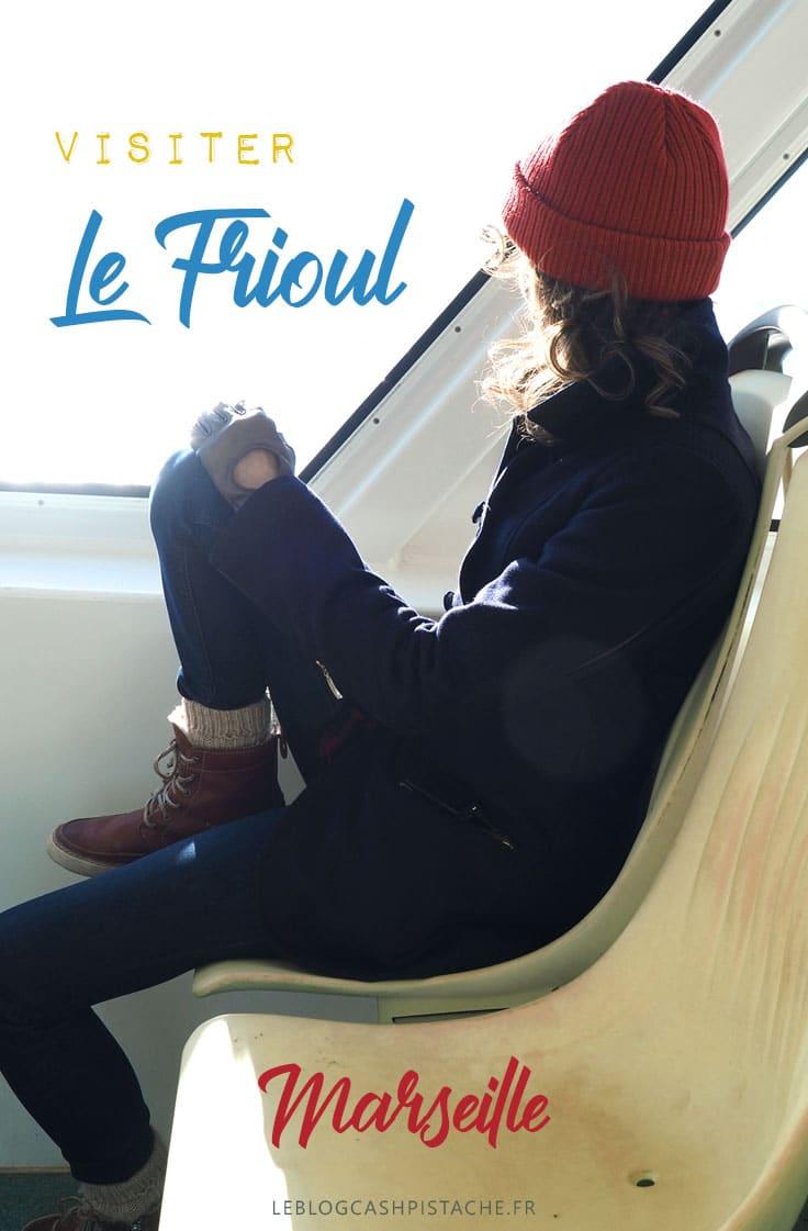 où se trouve le bateau Marseille Frioul ?