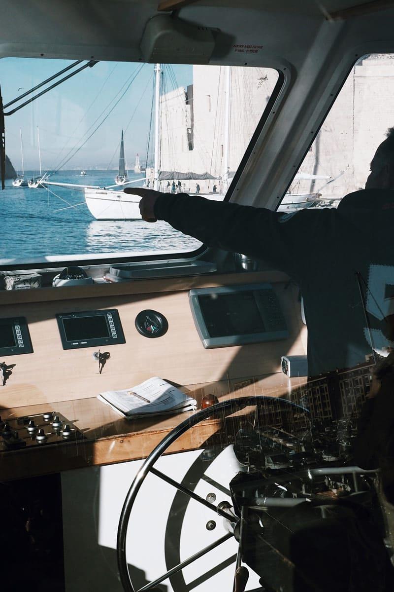 balade en mer depuis Marseille Vieux Port