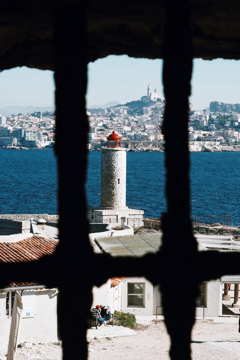 château d'If prison de Monte Cristo Alexandre Dumas