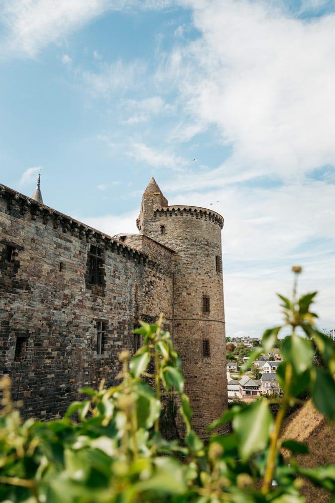 découvrir remparts les mieux conservés de Bretagne