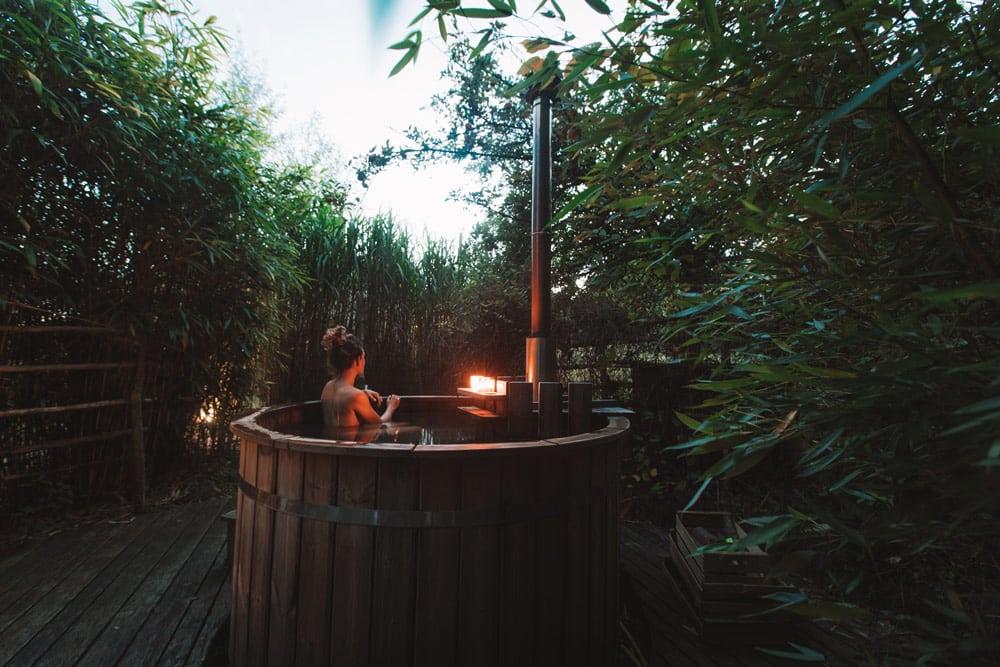 faire un bain nordique en Haute Bretagne écolodge