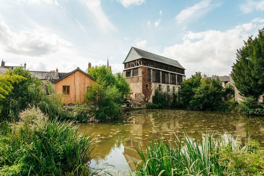 jardin Vitré Pré des Lavandières Bretagne