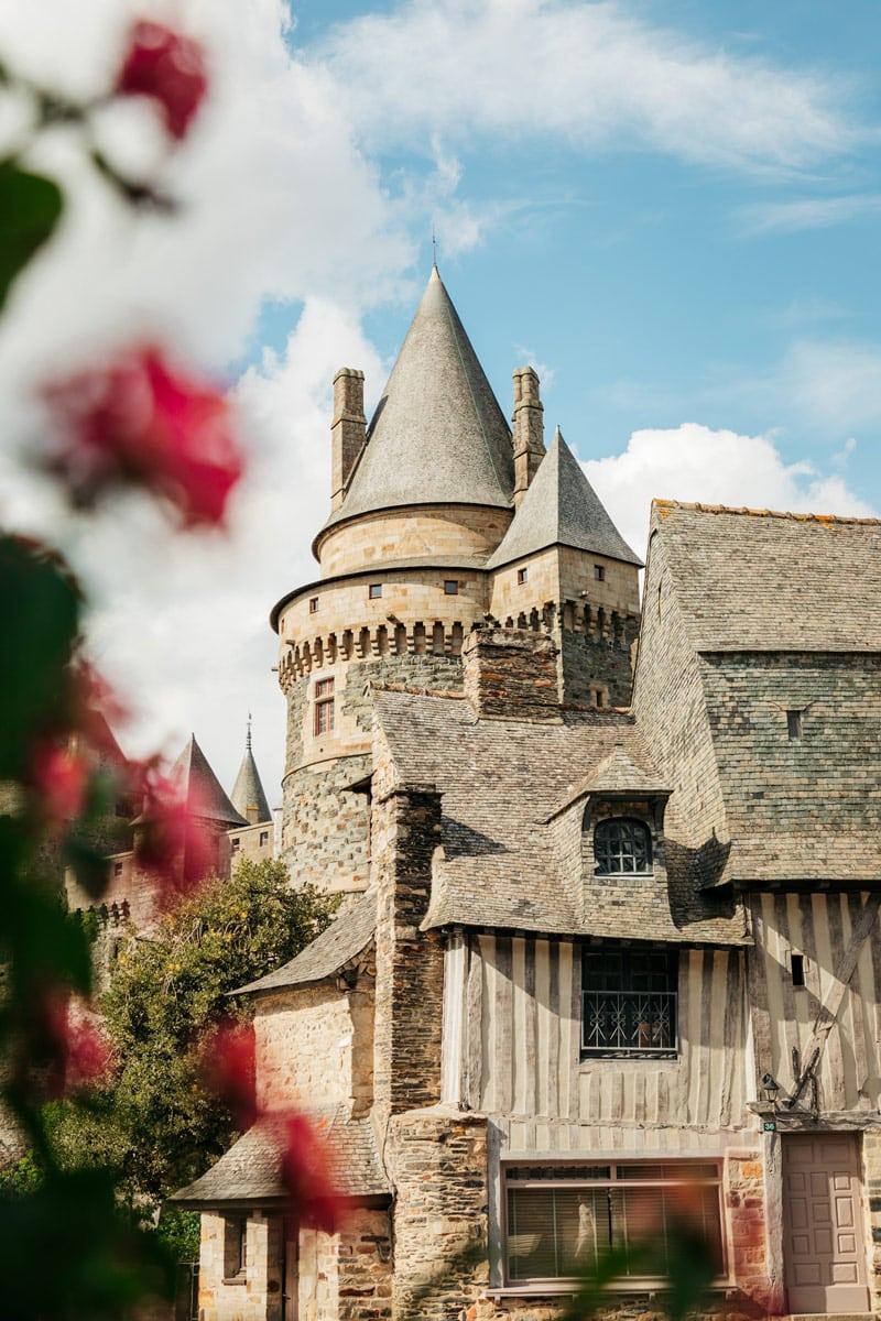 ou voir des maisons à pans de bois en Bretagne