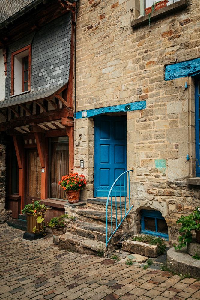 voir des maisons bretonnes typiques Ille-et-Vilaine