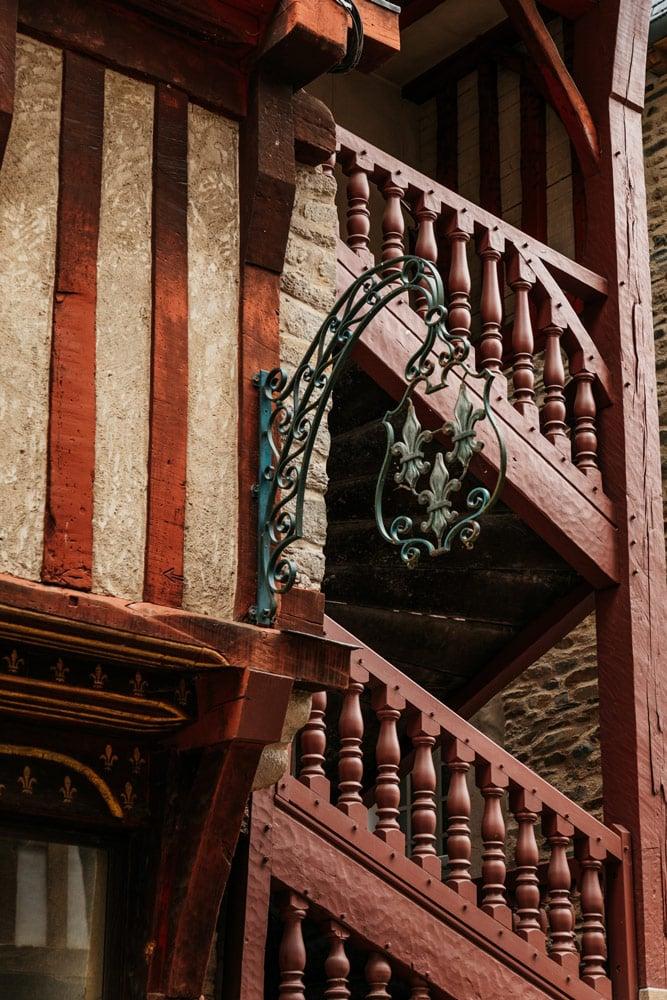 maisons à colombages Haute Bretagne