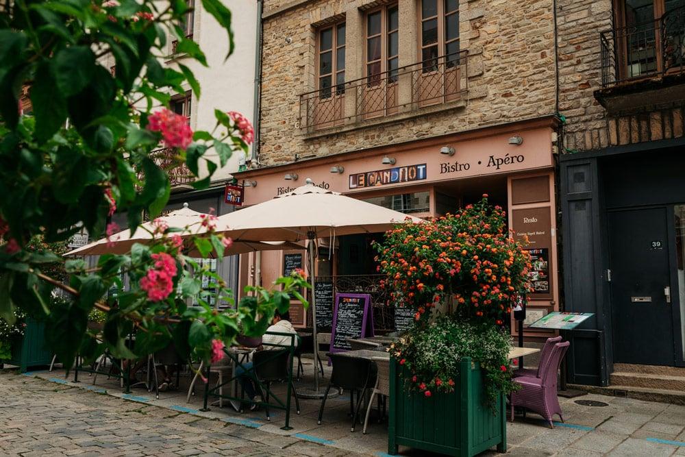 où manger Vitré ville de Haute Bretagne
