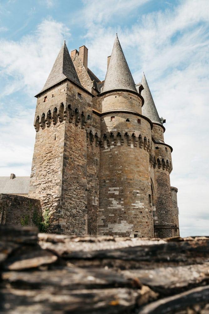 visiter les châteaux de Vitré et Rochers-Sévigné