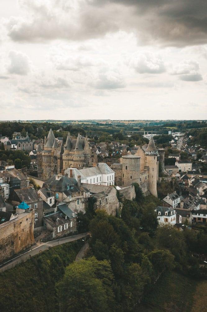 Vitré cité médiévale de Haute Bretagne