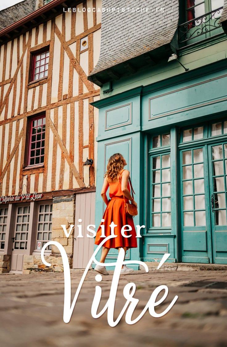 séjour à Vitré cité médiévale vers Rennes