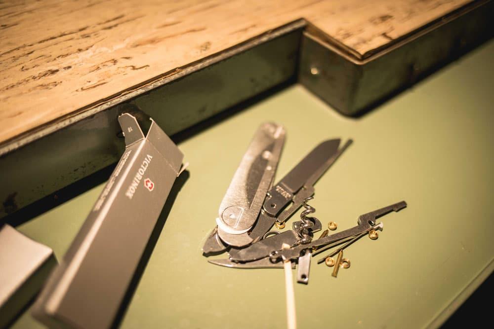 atelier fabriquer son couteau suisse à Genève