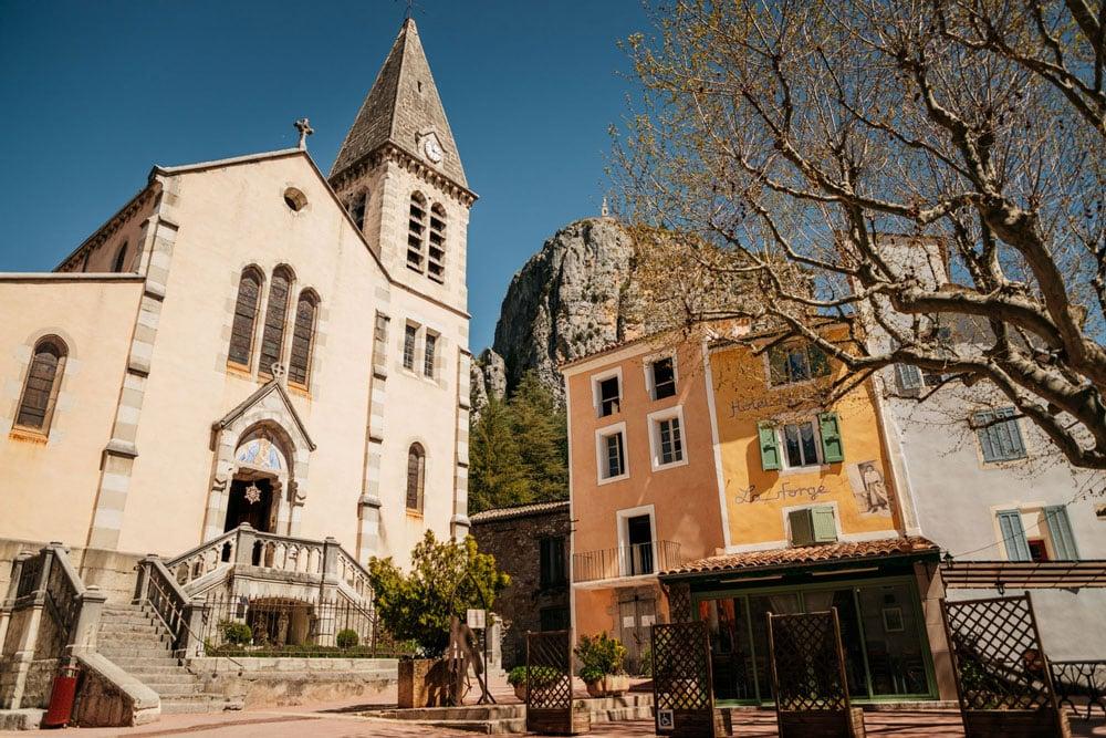 beaux villages du Verdon Alpes de Haute Provence