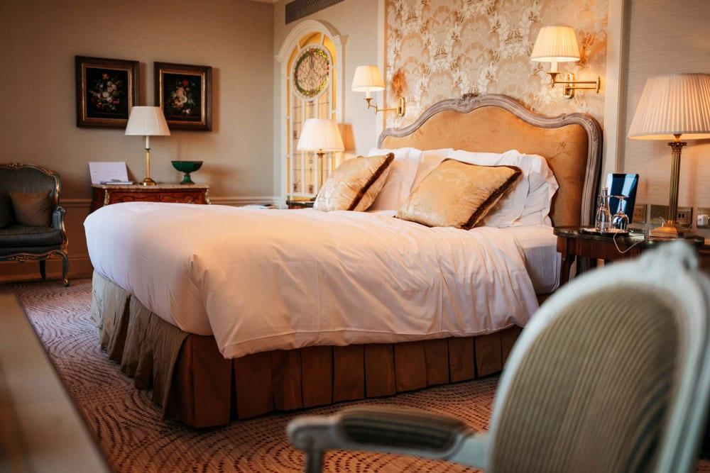 chambre hôtel Beau Rivage Genève