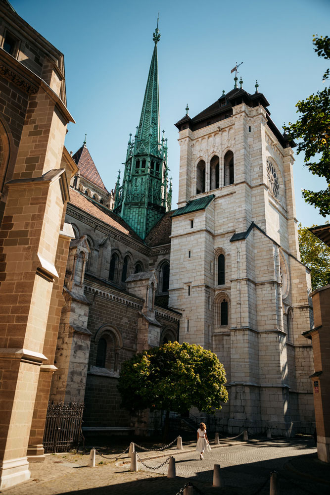 choses à faire à Genève cathédrale monuments