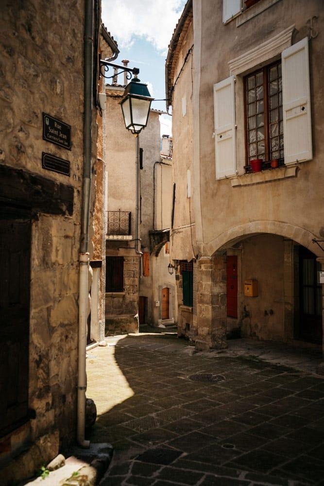 cité médiévale Annot villages du Verdon