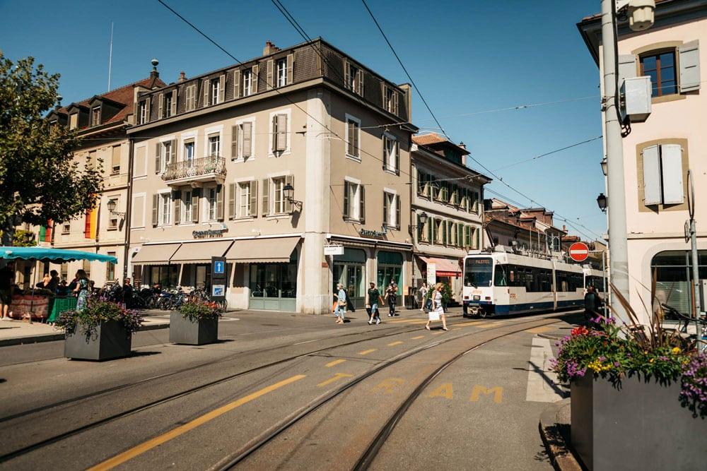 comment se déplacer a Genève