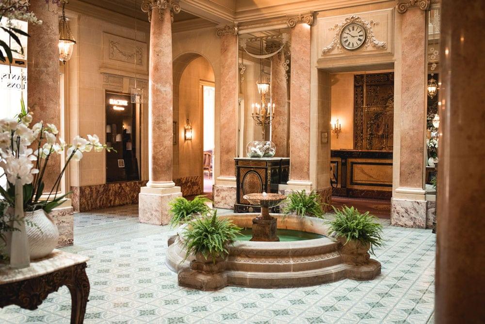 dormir au plus bel hôtel de Genève Beau Rivage