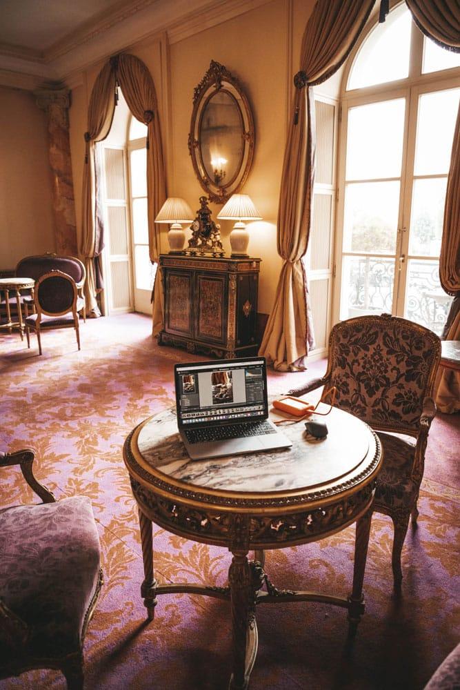 dormir dans un hôtel de luxe Beau Rivage Genève