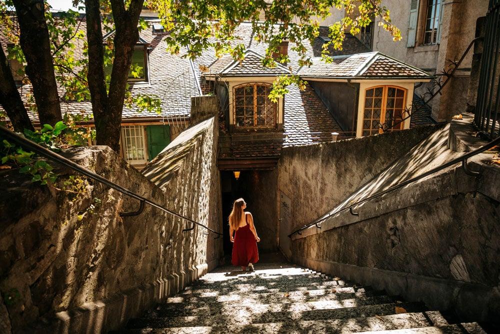 explorer le quartier historique de Genève
