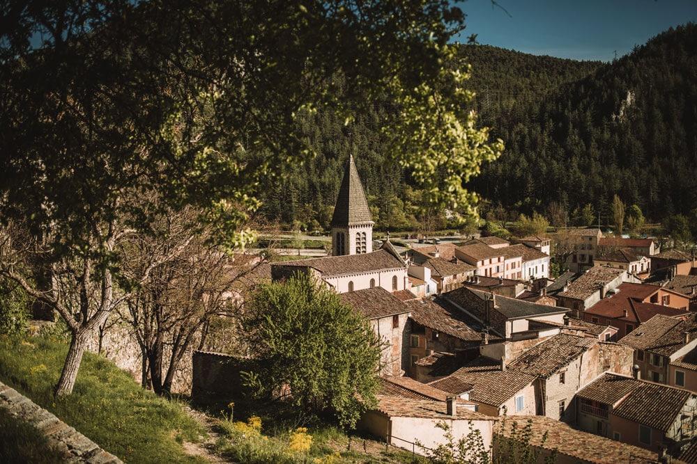 faire la vieille ville de Castellane Verdon