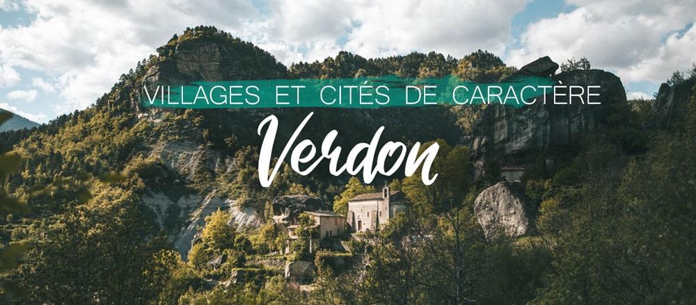 faire les plus beaux villages du Verdon