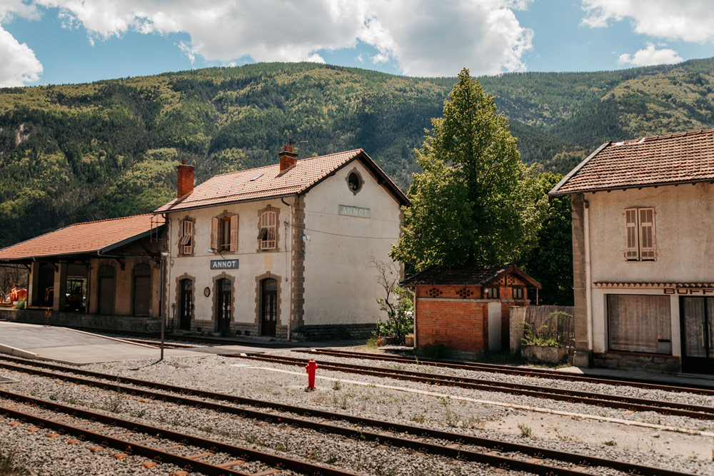 gare train des Pignes Annot