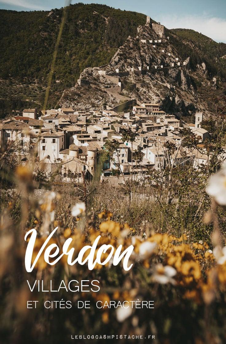 Gorges du Verdon cités médiévales