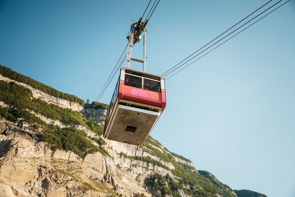 infos téléphérique mont Salève Genève