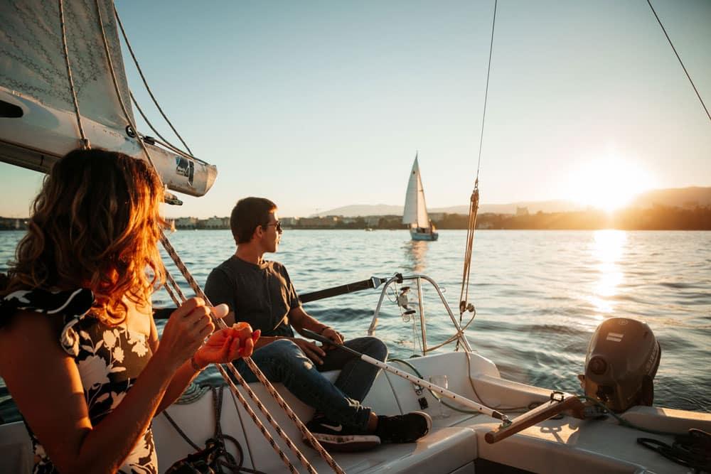 louer un voilier sur le lac Léman Genève