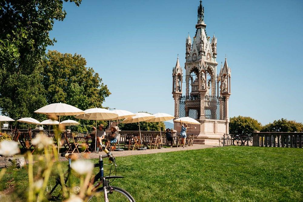 manger dans un cottage nature à Genève en week-end