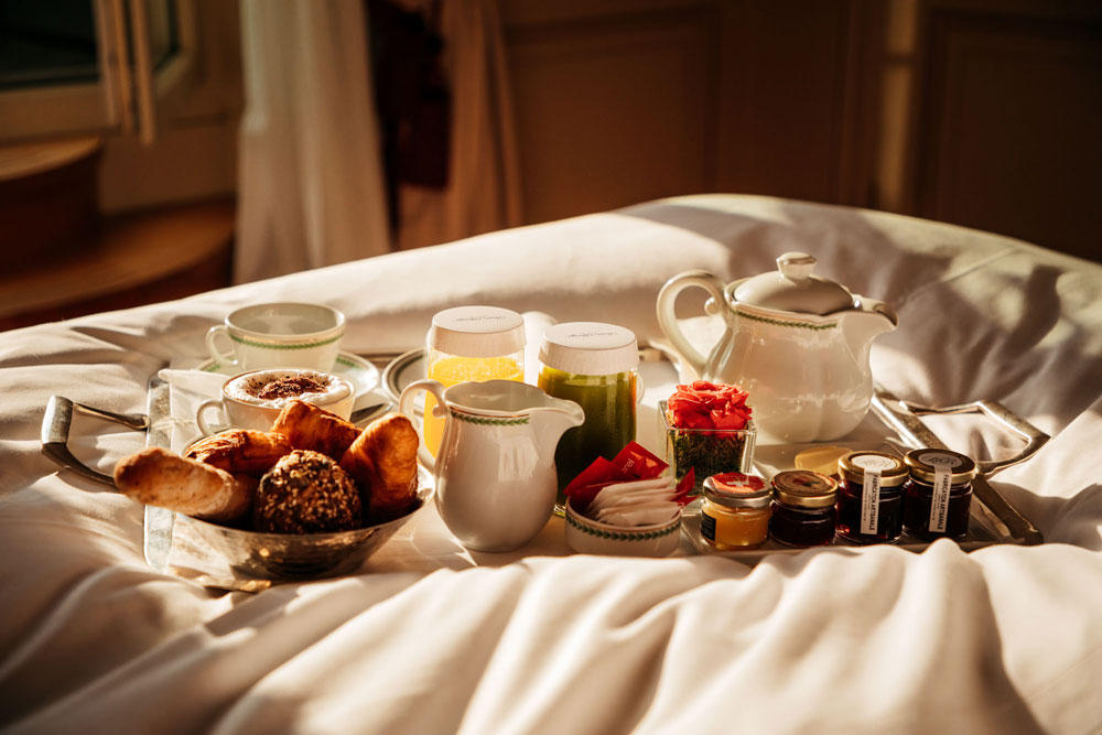 meilleur petit déjeuner hôtel de luxe Genève