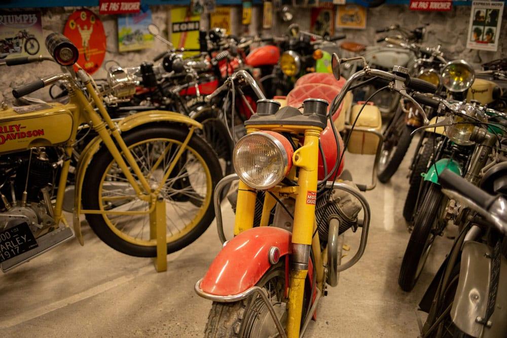 musée de la moto Entrevaux visite