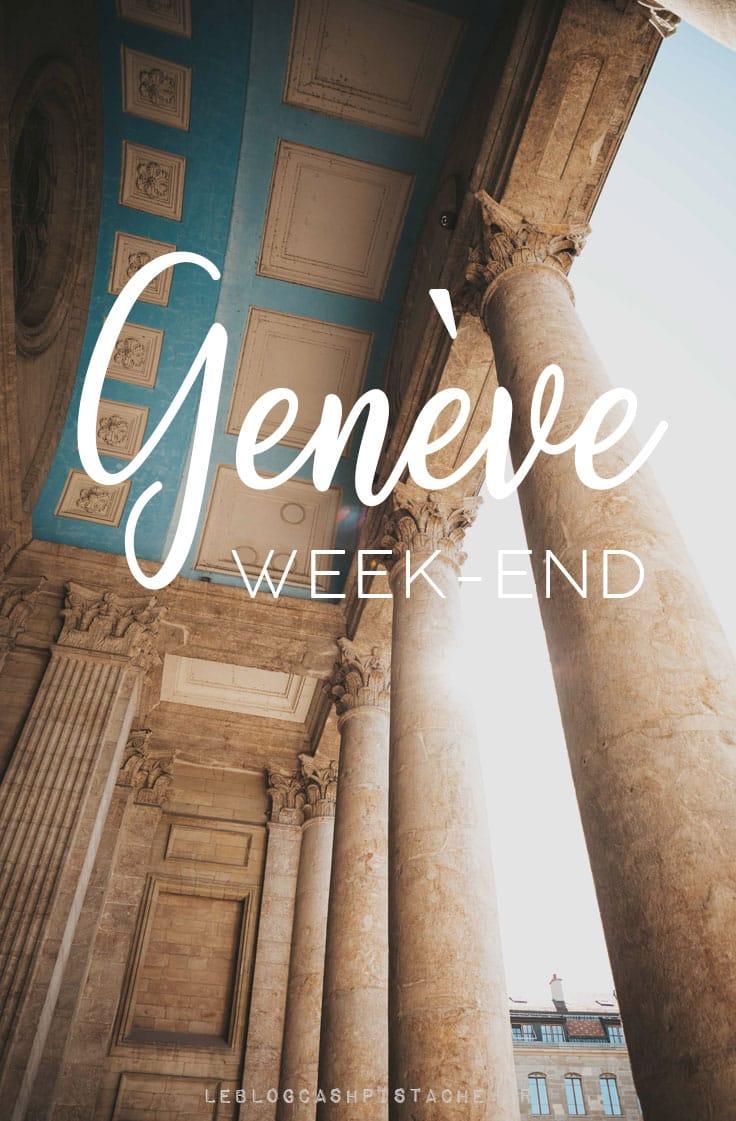 organiser son week-end à Genève nature et incontournables