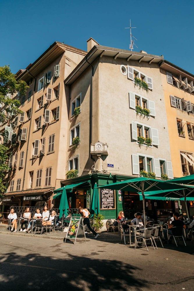 ou aller boire un verre à Genève ?