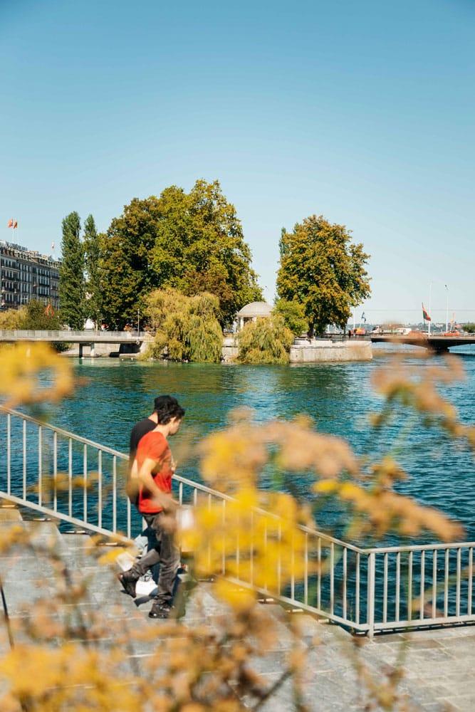 où flâner à Genève suisse ?