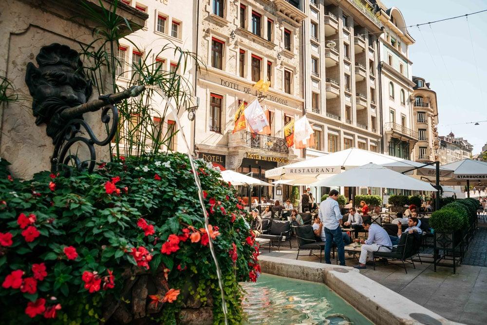 où manger à Genève suisse ?