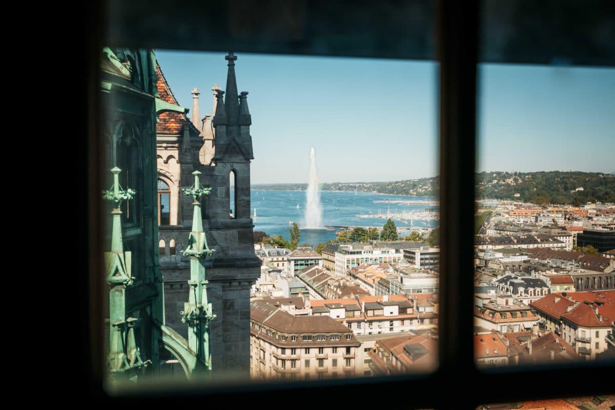 où voir panorama Genève suisse week-end nature