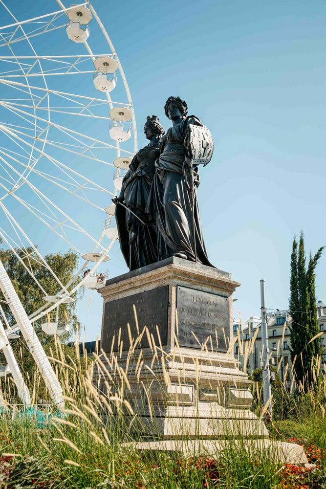 patrimoine au jardin des anglais Genève week-end