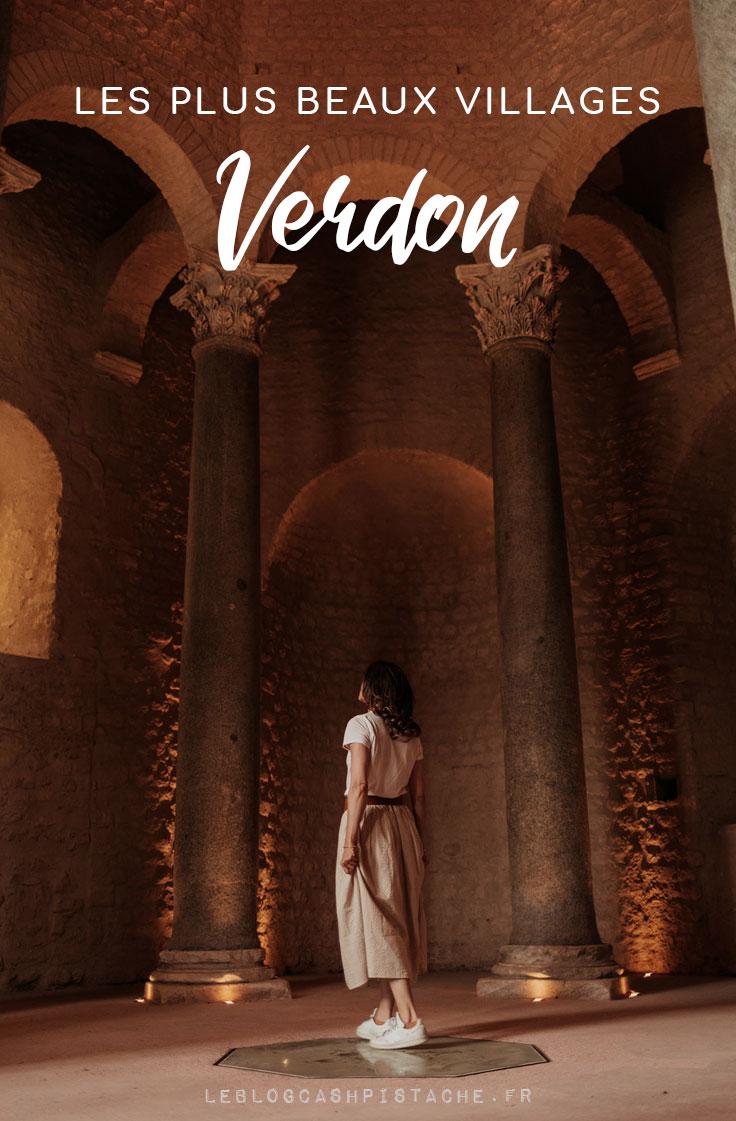 plus beaux villages du Verdon