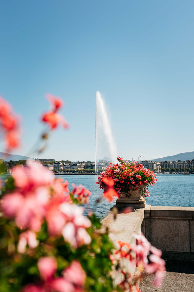 pourquoi jet d'eau Genève ?