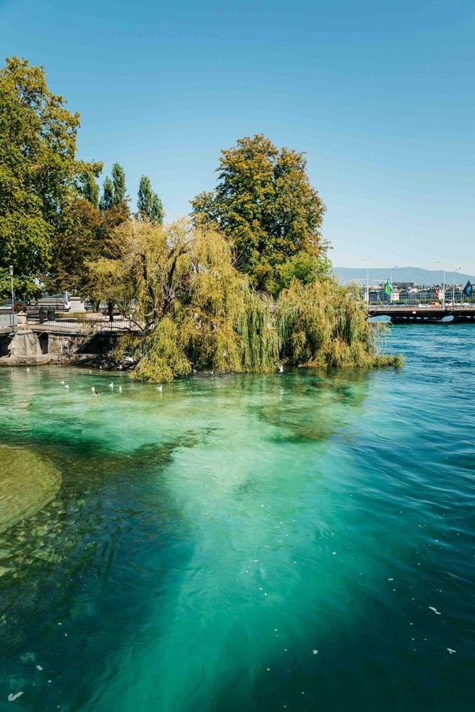 prendre le temps à Genève en suisse